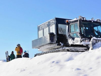 Book your Niseko Cat Skiing tour with Stoked Niseko Backpackers Hostel. http://stokednisekohostel.com/vendor/niseko-cat-skiing/