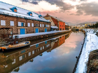 Visit the famous canal on an Otaru Day Tour