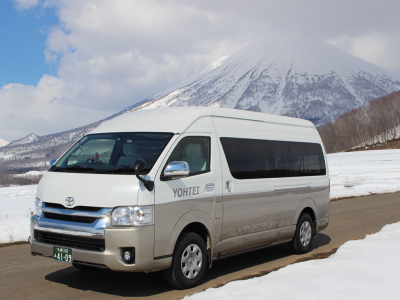 Book your Niseko Transfer with Stoked Niseko Hostel. http://stokednisekohostel.com/vendor/yohtei-taxi-niseko-transfer/