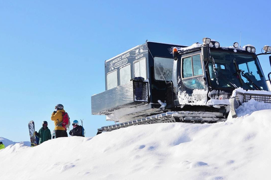 Book your Weiss Cat Assisted Backcountry Tour with Stoked Niseko Backpackers Hostel. http://stokednisekohostel.com/vendor/weiss-cat-assisted-backcountry-tour/